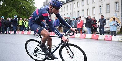 Julius van den Berg sprints to 6th in Bretagne