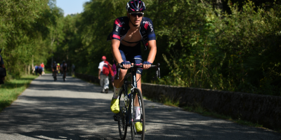 Edoardo Affini spends the day in the break
