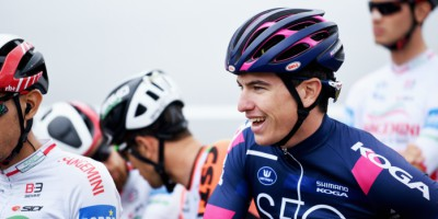 Edoardo Affini was invited to join Quick-Step Floors in their training camp in Calpe