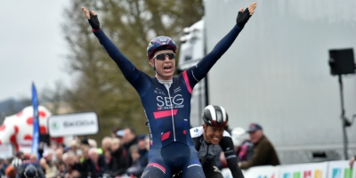 Van den Berg wins the queen stage in Tour de Normandie