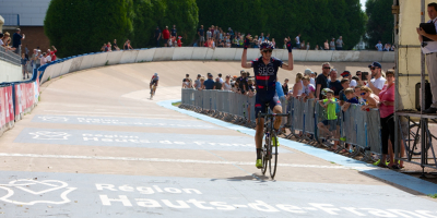 Van den Berg and Arensman take second and third in Paris Roubaix U23