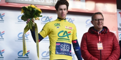 Dainese takes the win and moves to the GC lead in Normandie