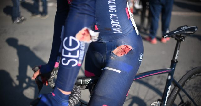 Bad luck strikes the Academy in Tour de Bretagne's opener